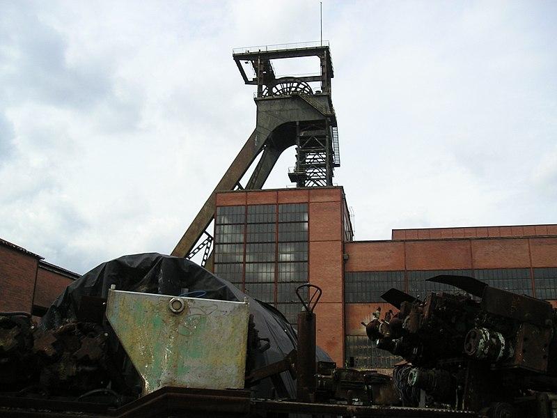 Photo du Monument Historique Carreau minier Vuillemin-Wendel situé à Petite-Rosselle