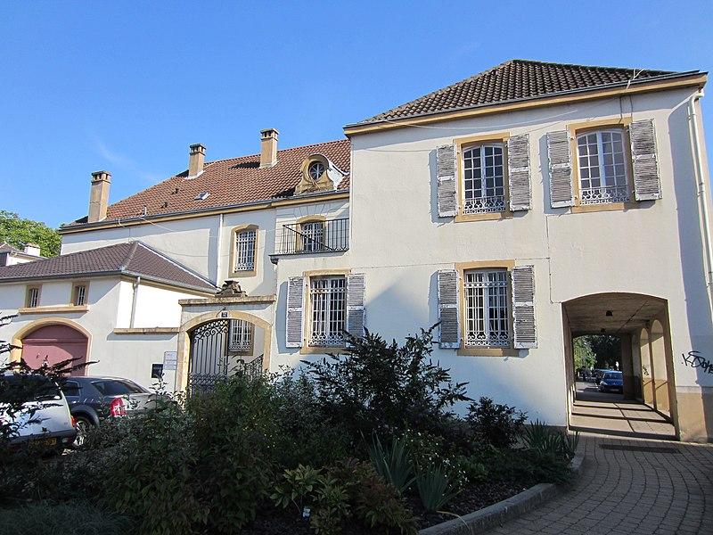 Photo du Monument Historique Villa situé à Le Ban-Saint-Martin