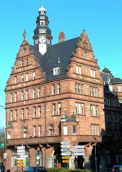 Photo du Monument Historique Hôtel des Arts et Métiers, dit aussi Maison des Corporations situé à Metz