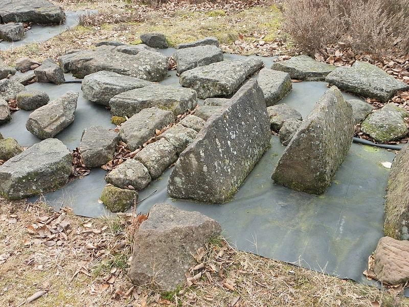 Photo du Monument Historique Site archéologique de la Croix-Guillaume situé à Saint-Quirin