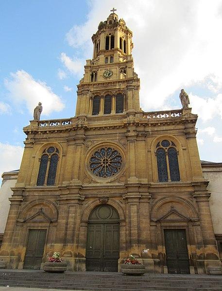 Photo du Monument Historique Eglise Saint-Martin situé à Hayange