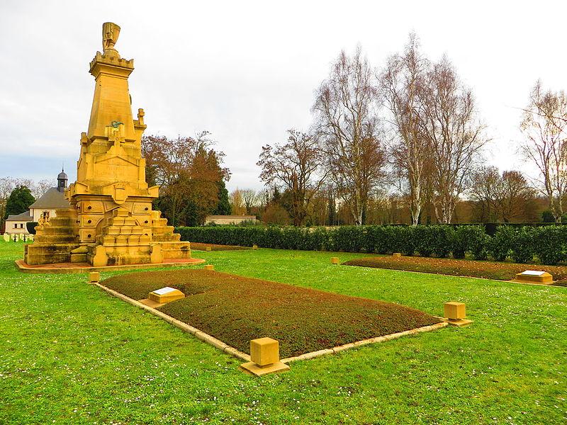 Photo du Monument Historique Nécropole de Chambière situé à Metz