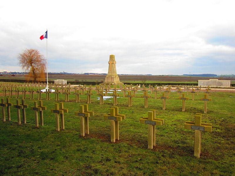 Photo du Monument Historique Nécropole Nationale situé à Riche
