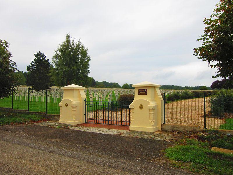 Photo du Monument Historique Cimetière national des prisonniers situé à Sarrebourg