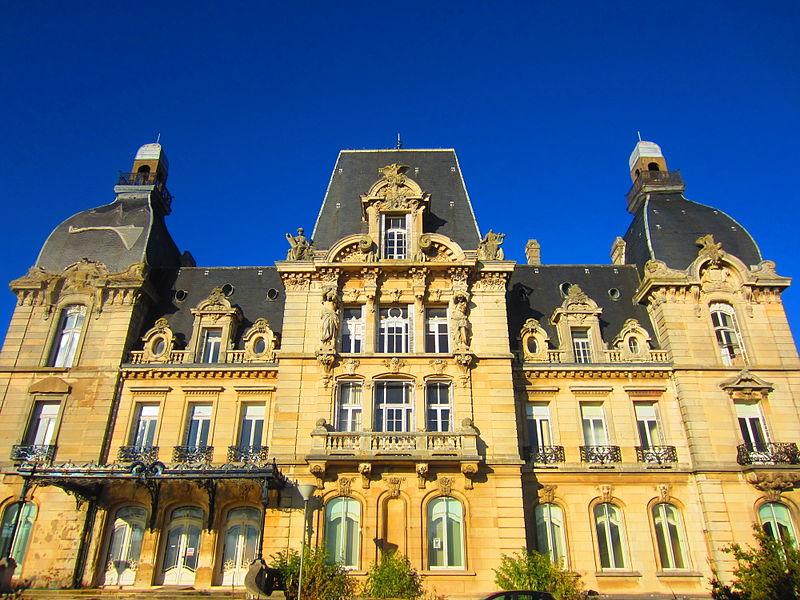 Photo du Monument Historique Château de Mercy situé à Ars-Laquenexy