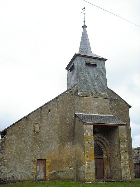 Photo du Monument Historique Eglise Saint-Pierre et Saint-Paul situé à Alluy