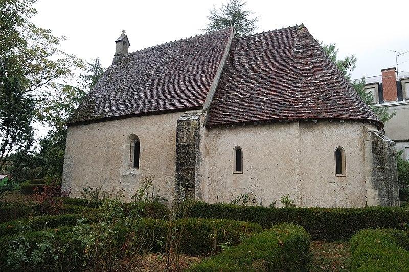 Photo du Monument Historique Chapelle de Saint-Lazare situé à Armes