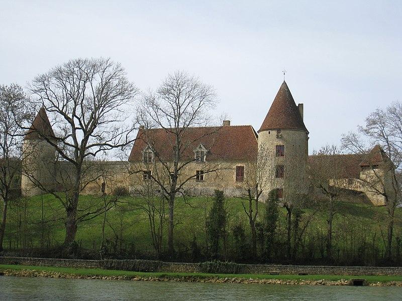 Photo du Monument Historique Château de la Motte situé à Arthel