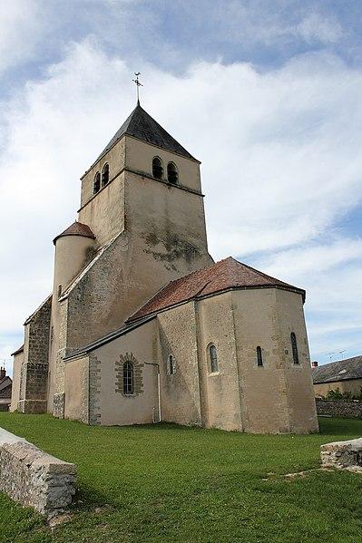 Photo du Monument Historique Eglise situé à Bazolles