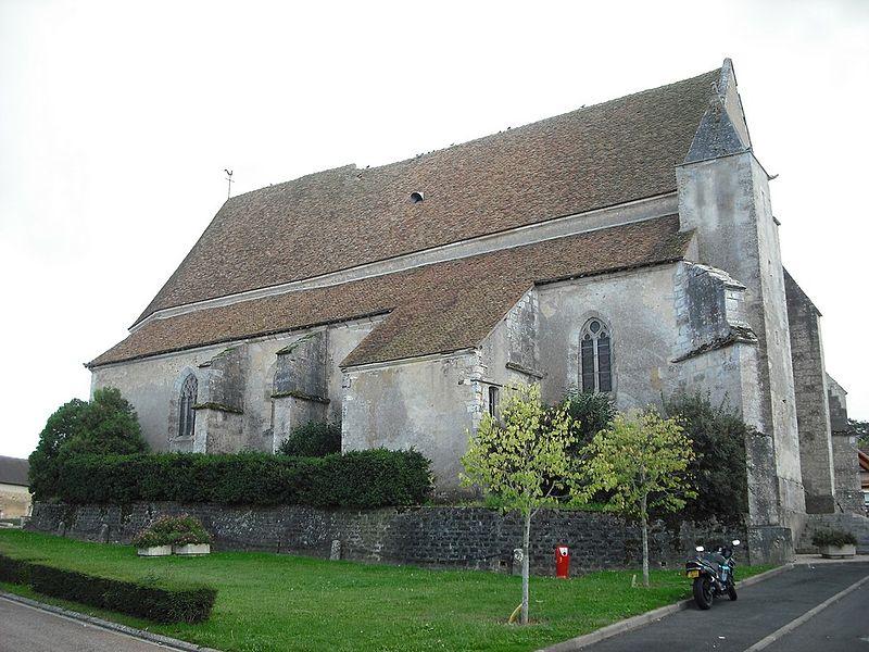 Photo du Monument Historique Eglise situé à Bitry