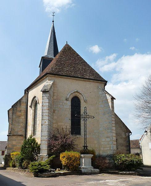 Photo du Monument Historique Eglise situé à Bouhy