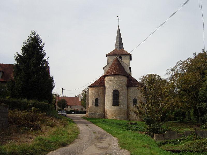 Photo du Monument Historique Eglise situé à Champvoux