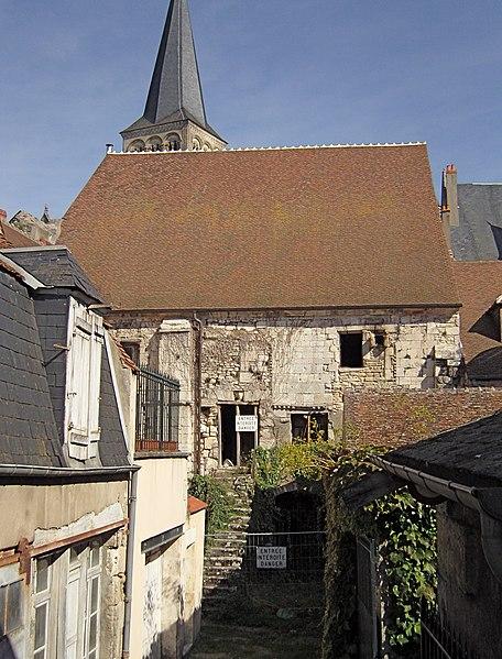 Photo du Monument Historique Grenier à sel situé à La Charité-sur-Loire