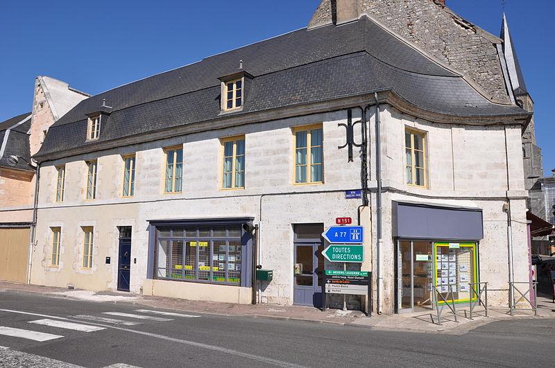 Photo du Monument Historique Maison situé à La Charité-sur-Loire