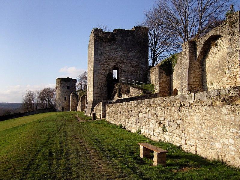 Photo du Monument Historique Remparts (restes) situé à La Charité-sur-Loire