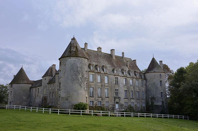 Photo du Monument Historique Château situé à Chitry-les-Mines