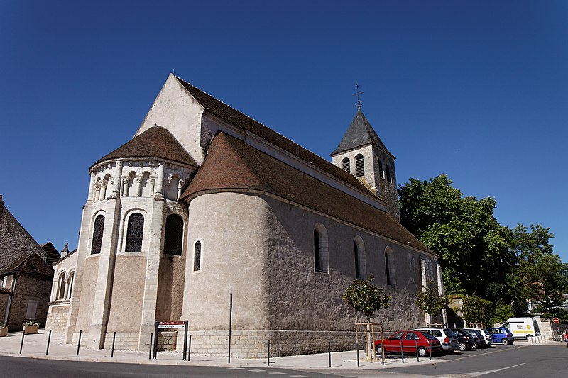 Photo du Monument Historique Eglise Saint-Aignan situé à Cosne-Cours-sur-Loire