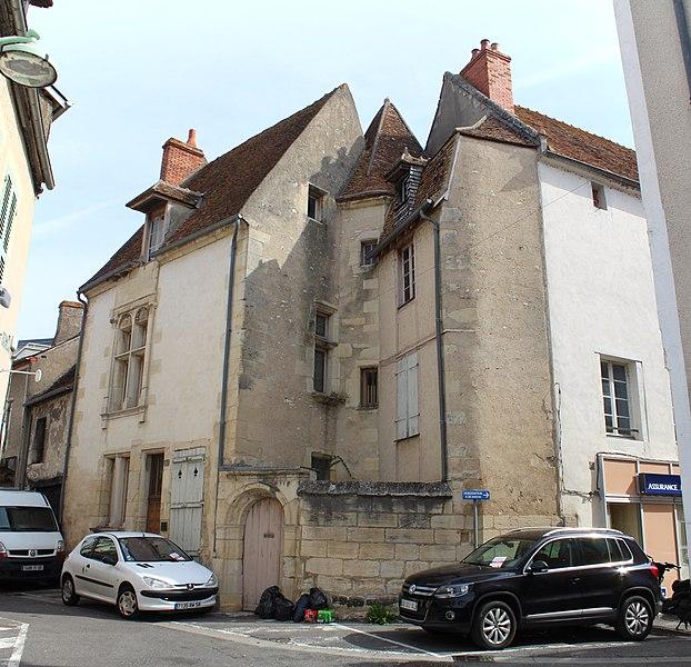 Photo du Monument Historique Maison situé à Cosne-Cours-sur-Loire
