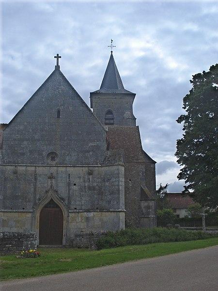 Photo du Monument Historique Eglise situé à Cuncy-lès-Varzy
