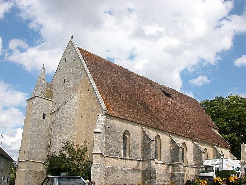 Photo du Monument Historique Eglise situé à Dampierre-sous-Bouhy