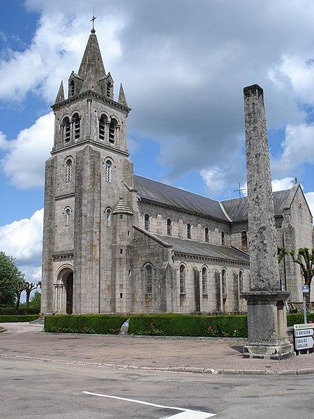 Photo du Monument Historique Eglise Sainte-Amélie situé à Dun-les-Places