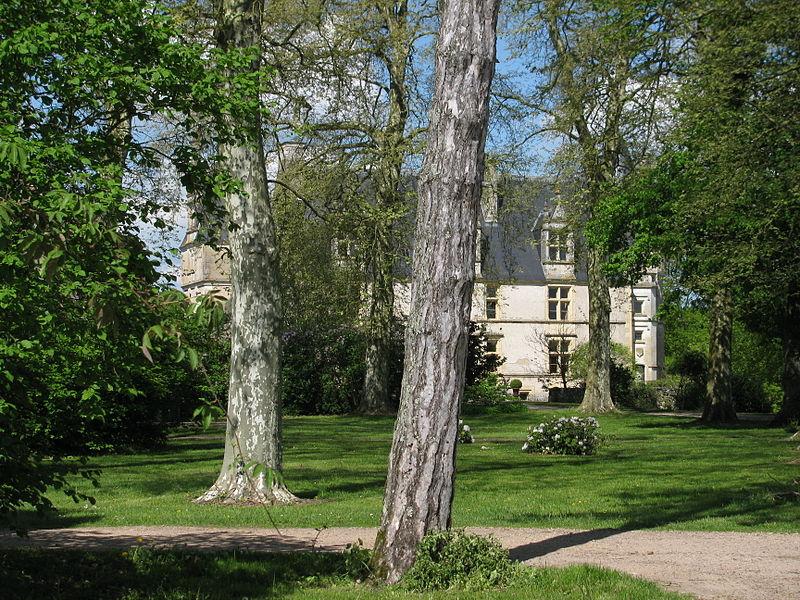 Photo du Monument Historique Château de la Motte-Farchat situé à Fleury-sur-Loire