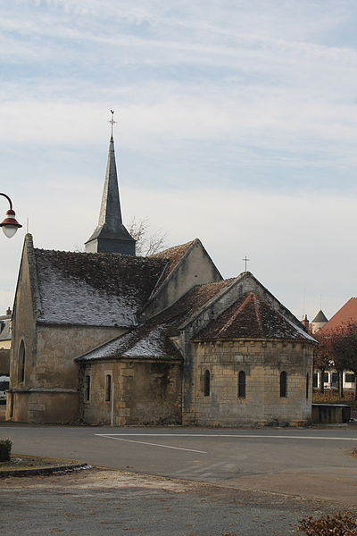 Photo du Monument Historique Eglise Saint-Martin situé à Garchy