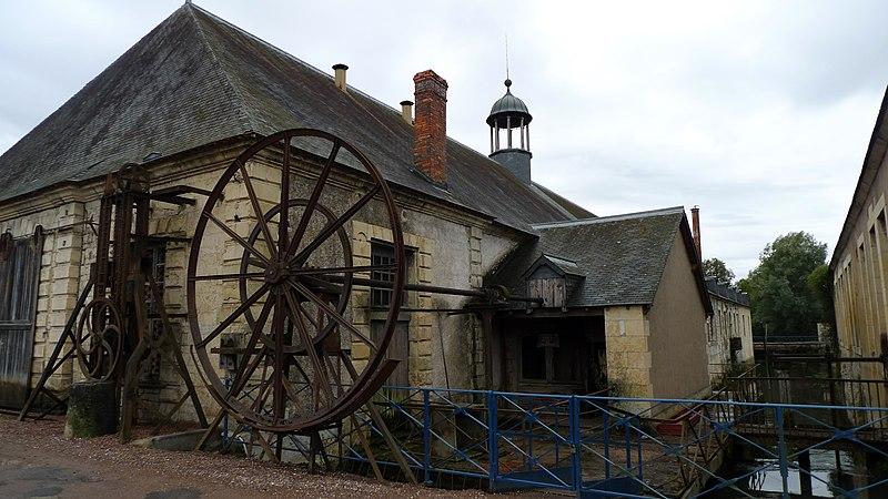 Photo du Monument Historique Forges royales de la Chaussade situé à Guérigny