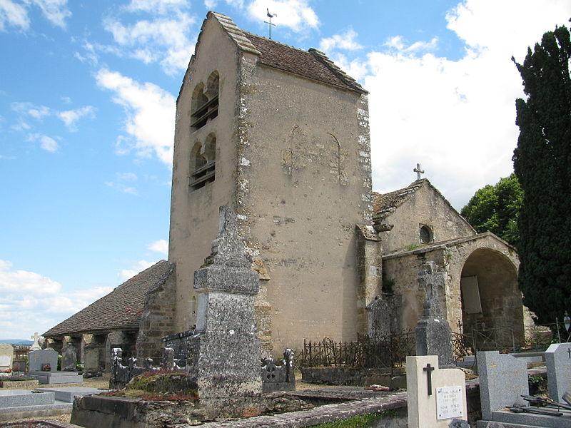 Photo du Monument Historique Eglise situé à Metz-le-Comte