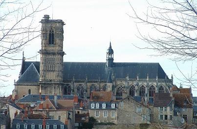 Photo du Monument Historique Cathédrale Saint-Cyr et Sainte-Julitte situé à Nevers