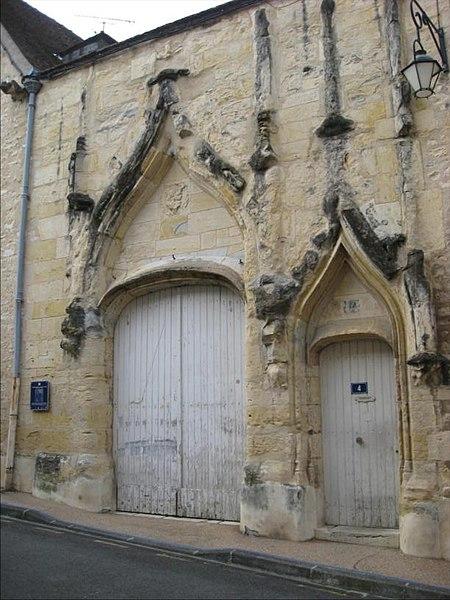 Photo du Monument Historique Chambre des Comptes situé à Nevers