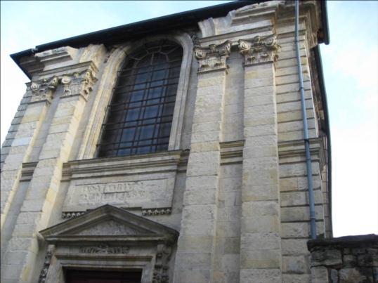 Photo du Monument Historique Chapelle des Oratoriens situé à Nevers