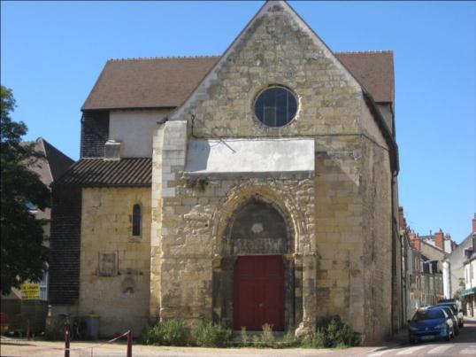 Photo du Monument Historique Ancienne église Notre-Dame dite église Saint-Genest situé à Nevers