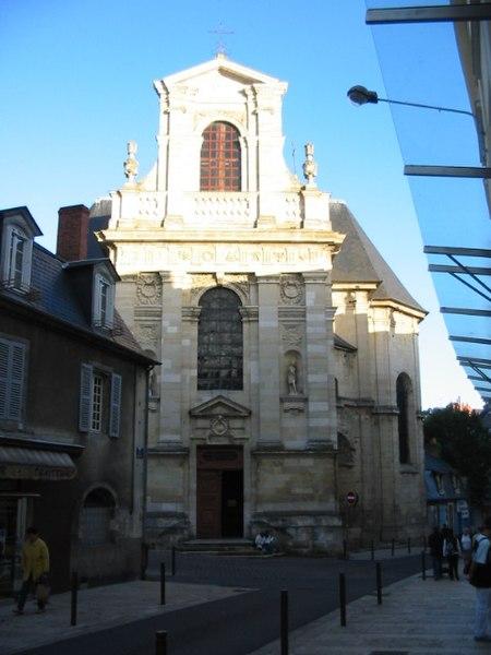 Photo du Monument Historique Eglise Saint-Pierre situé à Nevers