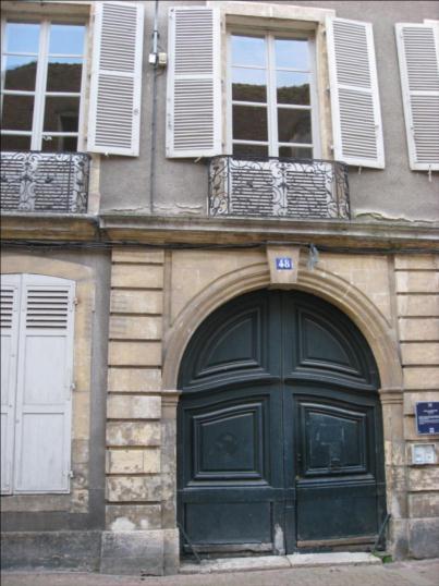 Photo du Monument Historique Hôtel Tiersonnier situé à Nevers