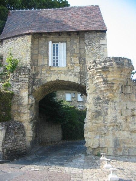 Photo du Monument Historique Immeuble dénommé Avant-Porte du Croux situé à Nevers