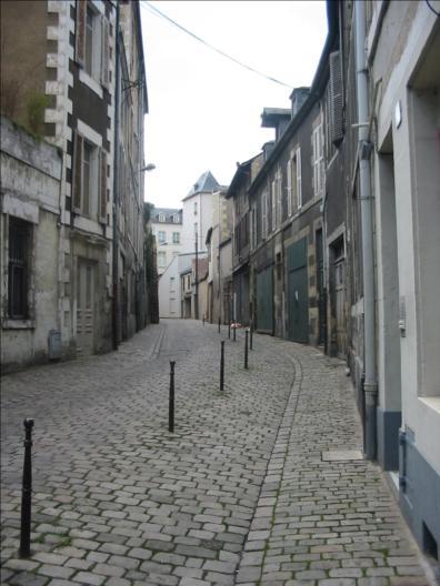 Photo du Monument Historique Remparts et vieux murs situé à Nevers