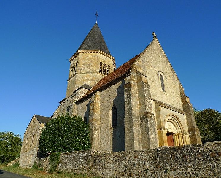 Photo du Monument Historique Eglise situé à Ourouër