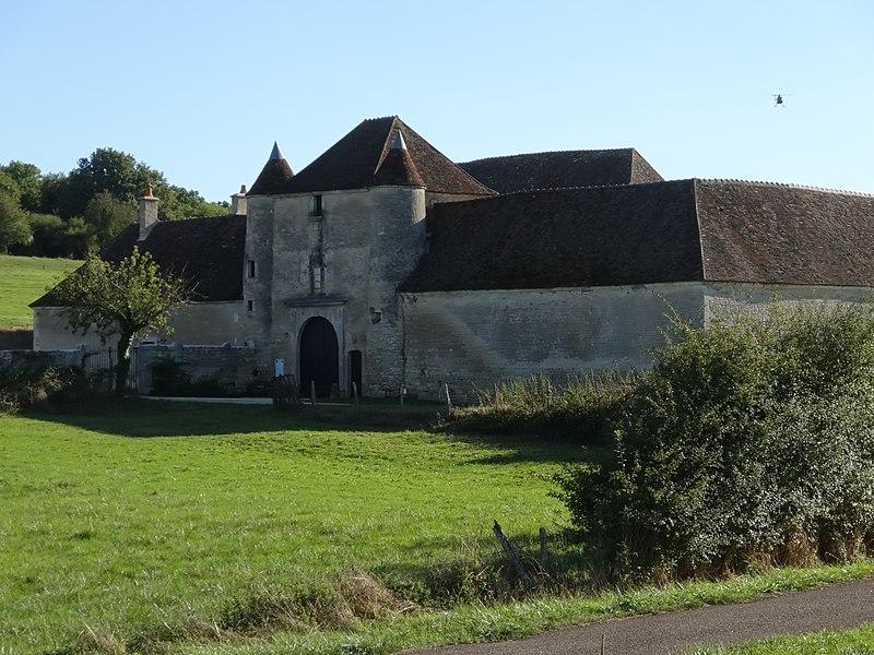 Photo du Monument Historique Chartreuse de Basseville situé à Pousseaux