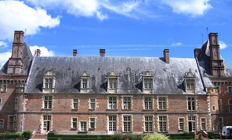Photo du Monument Historique Château situé à Saint-Amand-en-Puisaye