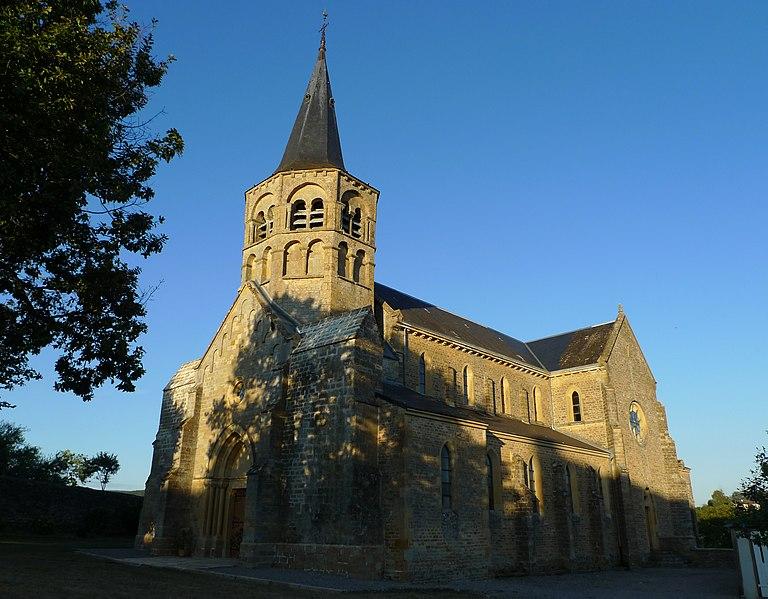 Photo du Monument Historique Eglise situé à Saint-Sulpice