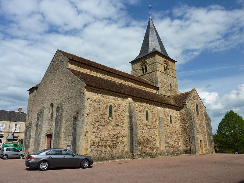 Photo du Monument Historique Eglise situé à Sémelay