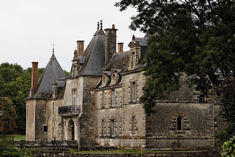 Photo du Monument Historique Château des Granges situé à Suilly-la-Tour
