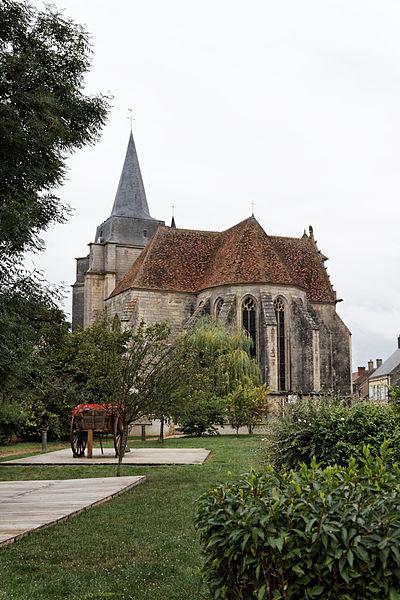 Photo du Monument Historique Eglise situé à Suilly-la-Tour