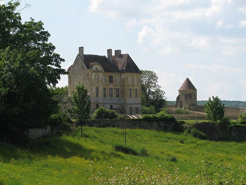 Photo du Monument Historique Château de Pignol situé à Tannay