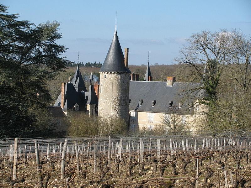 Photo du Monument Historique Château de Tracy situé à Tracy-sur-Loire