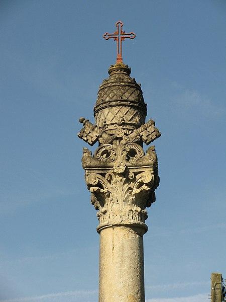 Photo du Monument Historique Croix du Pape situé à Tronsanges