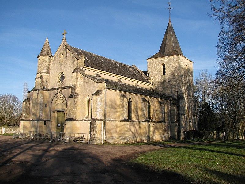 Photo du Monument Historique Eglise Saint-Denis situé à Urzy