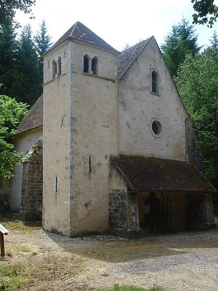 Photo du Monument Historique Léproserie Saint-Lazare situé à Varzy