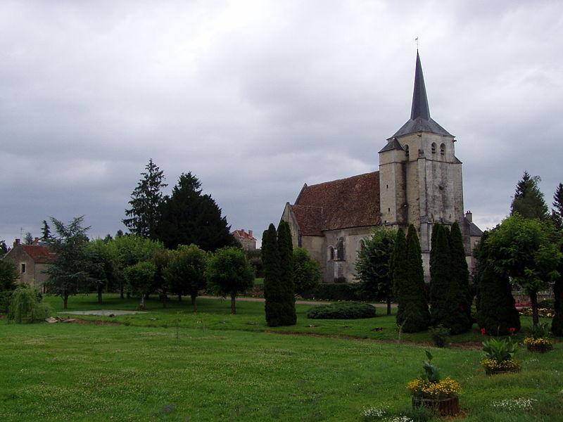 Photo du Monument Historique Eglise situé à Vielmanay